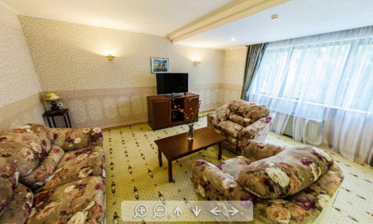 3-х комнатный 3-х местный «Апартамент» 1 корпуса